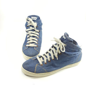 Levis Shoe Jean Design Size 10 Mens Shoe